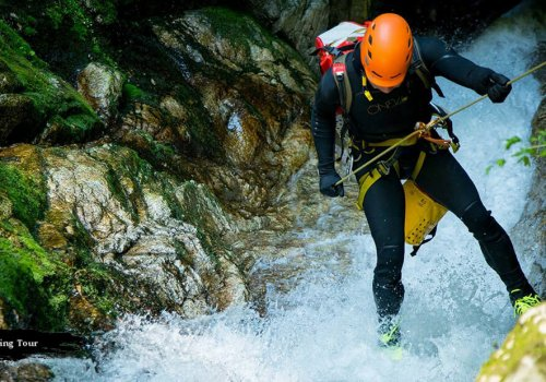 Canyoning Greece